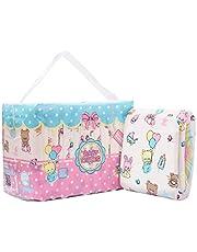 LittleForBig Drukowane Briefy pieluchy dla dorosłych Dorośli Baby miłośnik pieluszek ABDL 10 sztuki-Baby Cuties (M)/(L)