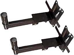 Pyle-Pro PSTND7 Pair Of Wall Mount Speaker Bracket With Adjustable Lock