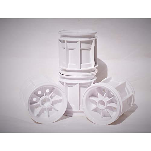(Tamiya 9804521 Wheels: WR-02 Volkswagen Type 2 Wheelie - 4 pieces)