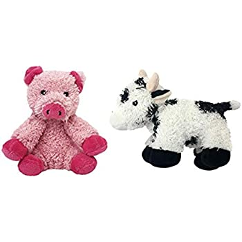 Pet Supplies : Multipet Look Who's Talking Cow & Pig Dog