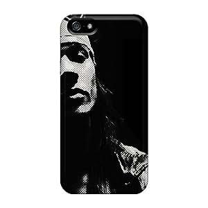 AlainTanielian Iphone 5/5s High Quality Hard Phone Covers Support Personal Customs Trendy Metallica Series [RMD11155iTqg]