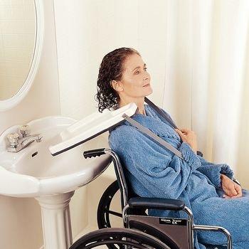 """Alimed Wheelchair Eazy Shampoo Hair Washing Tray, 12-3/4""""W x 17-1/3""""L"""