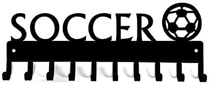 Amazon.com: El metal Peddler medalla de fútbol con pelota y ...