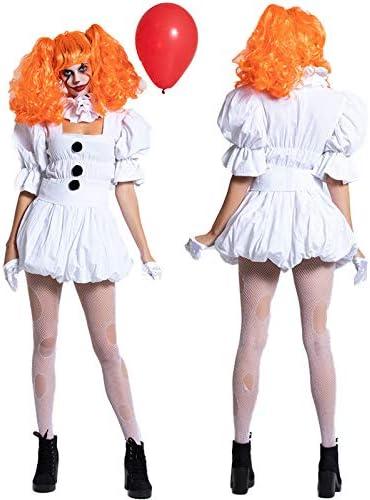 CoolTing S-XLWoman Chica Pennywise Vestuario de Mujer Adulta del ...