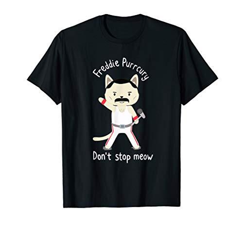 Dont Stop Meow Meowrcury T-shirt men women (Band T Shirts Kids)