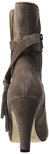 Buffalo Damen 415-8959 Cow Suede Stiefel Grau (grigio 01)