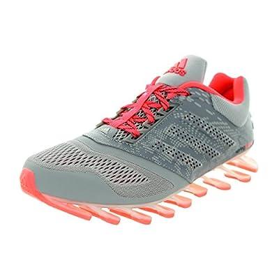 adidas Women's Springblade Drive 2 Grey/Metallic Silver/Pink Running Shoe: Shoes