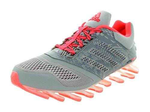 newest f26dc 9fa17 Scarpa Da Running Adidas Da Donna Con Springblade 2 Grigio   Argento  Metallizzato   Rosa. scarpe ...