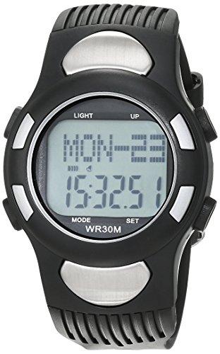 Foxnovo® All-in-One digital Herzfrequenz-Armbanduhr mit Schrittzähler / Alarm / Kalender / Calorie Counter / Stoppuhr / EL Hintergrundbeleuchtung