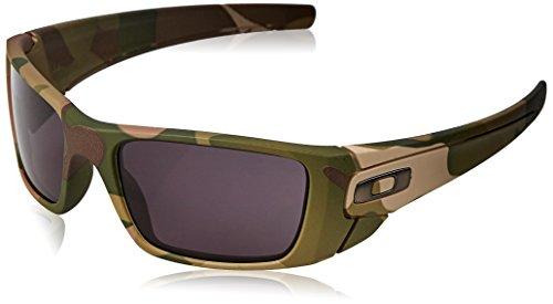Oakley Men's Fuel Cell Rectangular Sunglasses, Multicam, 60 mm