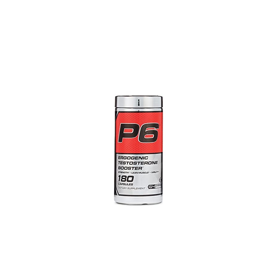 Cellucor, P6 Red, Ergogenic Testosterone Support, 180 Capsules