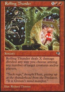 Magic: the Gathering - Rolling Thunder - Tempest