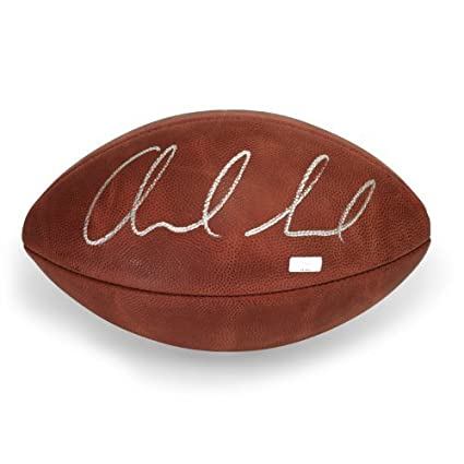 new arrivals 9b459 9d751 Andrew Luck Autographed Official Wilson NFL Football ~Open ...