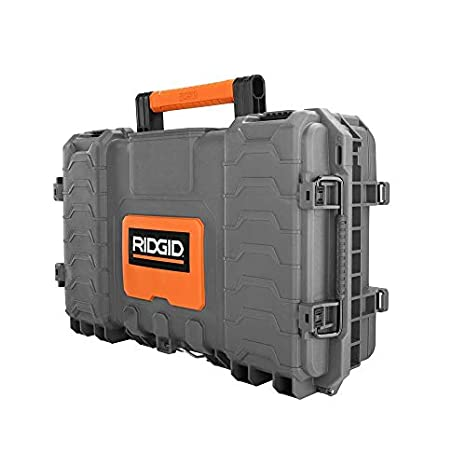 RIDGID 22 in Small Parts Tool Pro Organizer Black Water Sealed Heavy Duty