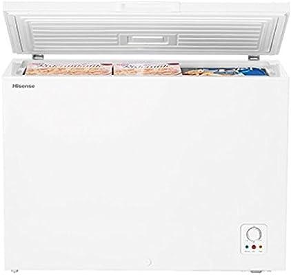 HISENSE Congelador Horizontal FC325D4AW1 Clase A la Capacidad ...
