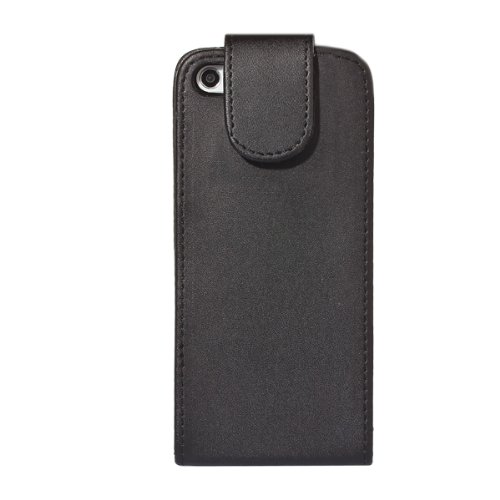 G4GADGET® Apple iPhone 5C Black Flip Wallet PU Leather Case Cover with Two Card slots For Apple iPhone 5C