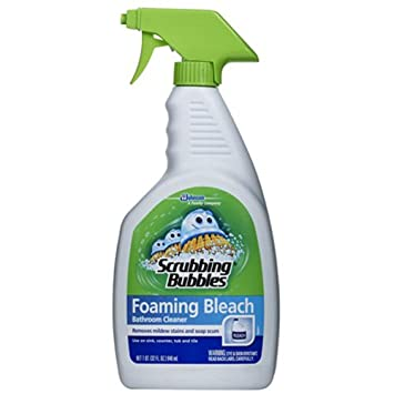 Scrubbing Bubbles Foaming Bleach Bathroom Cleaner, 32 Ounce