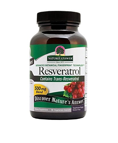 Nature's Answer Resveratrol 250-Mg Capsules, 60-Count