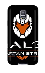 Hot Snap-on Halo: Spartan Strike Hard Cover Case/ Protective Case For Galaxy S5