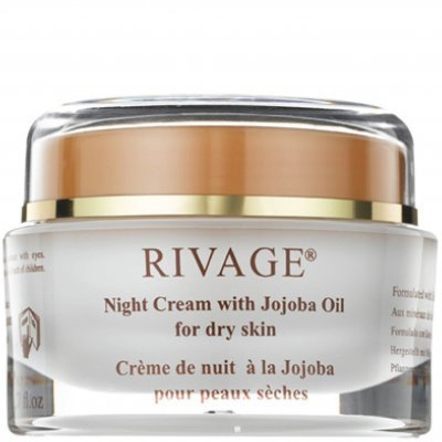 Rivage Night Cream with Jojoba Oil Al-Mawared Natural Beauty Products Corporation FC0901