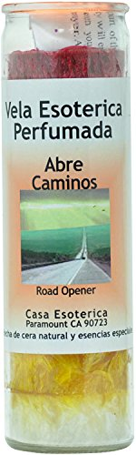 INDIO SPRITIUAL Palm Oil Candle-Road Opener 7 Colors Candle