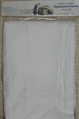 Room to Grow 4-in-1 Single White Fitted Sheet in White from Growing Room Inc