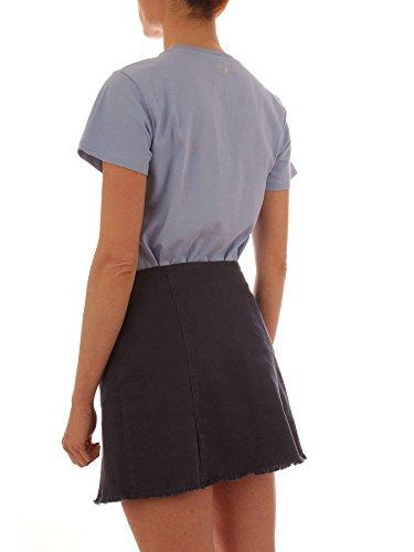 T Limonio Blu shirt Cristallo Uniqueness Pinko qRP5Ofx