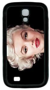 Classic Marilyn Monroe Black tpu Case Cover for Samsung Galaxy S4 I9500