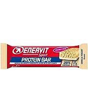 Enervit Protein Bar | Eiwitreep met min. 26% eiwit per reep | High Protein Bar Glutenvrij | (Vanille Yoghurt, enkele reep à 40g)