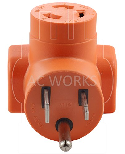 AC WORKS [AD650L630] Welder 6-50P Plug to L6-30R 3-Prong 30 Amp 250 Volt Locking Female Adapter by AC WORKS (Image #2)