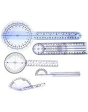 5Pcs Finger Goniometer Protractor Ruler Angle Ruler Spinal Goniometer Degree Protractor
