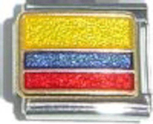 Flag Of Colombia Italian Charm ()