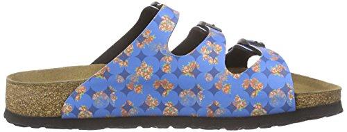 Signore Papillio Florida Birko-flor Muli Multicolori (cerchi Floreali Blu)