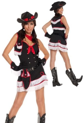 Dirty Desperado Costume - Plus Size 1X/2X - Dress Size 18-22