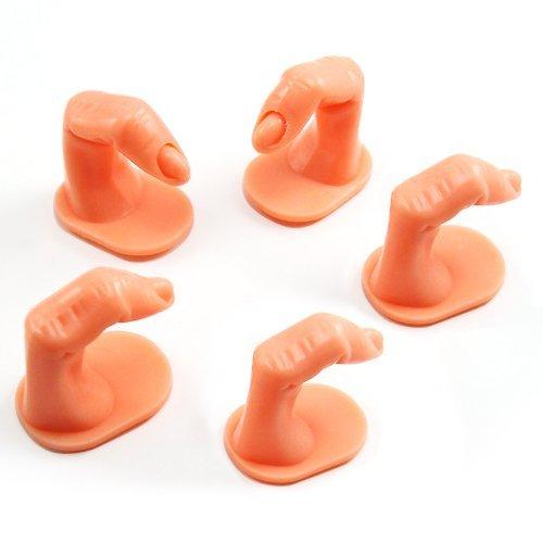 False Acrylic Finger Tip Nail Art Practice Training