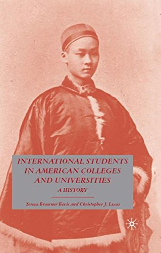 International Students in American Colleges and Universities: A History