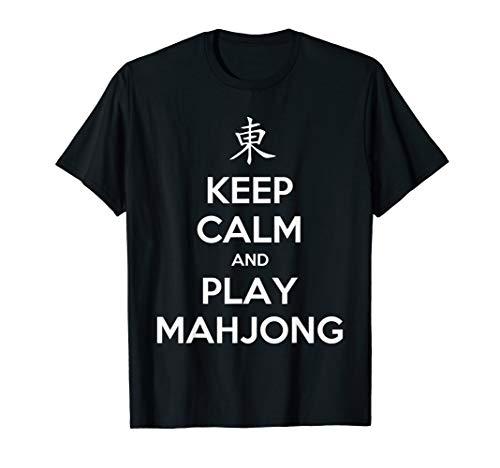 - Keep Calm And Play Mahjong T-Shirt