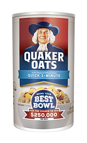 quaker oatmeal container - 6