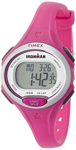 Timex Ironman TW5K90300 – Reloj de cuarzo para mujeres, color rosa