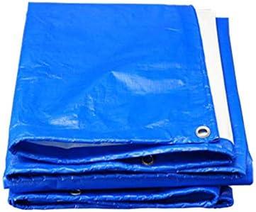 ターポリン厚み付け防水布日焼け止めトラックキャンバスアウトドア B20/05/18 (Color : Blue, Size : 2x3m)