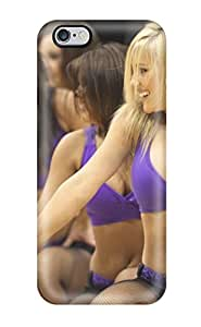 Rugged Skin Case Cover For Iphone 6 Plus- Eco-friendly Packaging(phoenix Suns Nba Basketball (29) )