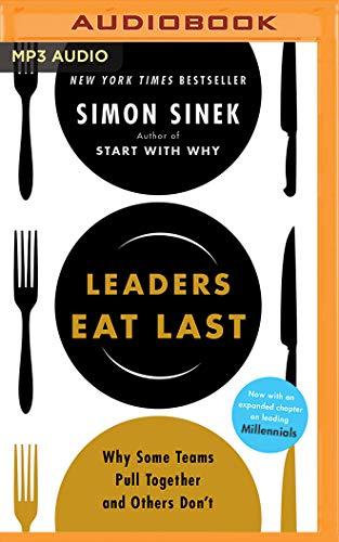 Leaders Eat Last MP3 CD – MP3 Audio, May 23, 2017