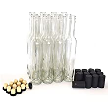 Bellissima Bottles, 375ml, Clear - Case of 12