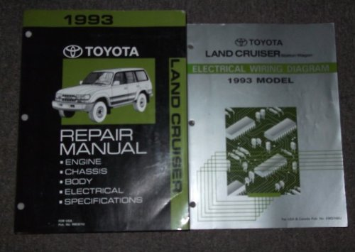 1993 toyota land cruiser repair shop manual original: toyota: amazon com:  books