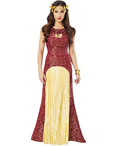 Renaissance Noble Lady Costumes (Costume Culture Women's Noble Lady Costume, Burgundy, Small)
