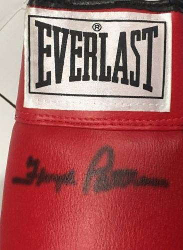 "Floyd Patterson Signed Red Everlast Boxing Glove Auto Autograph""as Is"" Cert JSA Certified Autographed Boxing Gloves"