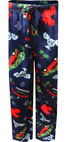 Warner Bros. Men's Christmas Vacation Lounge Pants  Festive Blue  M