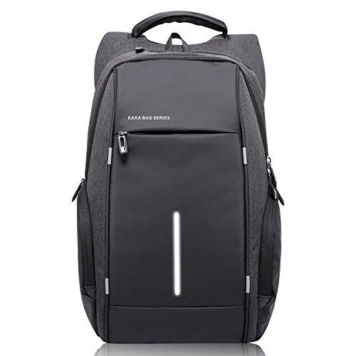 Waterproof Oxford Laptop Backpack for Men - 4