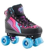 Rio Roller - Style Childrens Skate - Leopard/Black UK 1 / EU 33