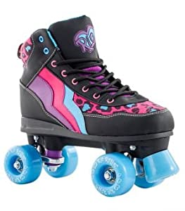 Rio Roller - Style Childrens Skate - Leopard/Black UK 1 / EU 33